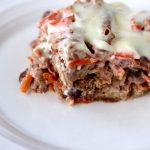 Healthy Carrot Cake Bread Pudding