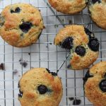 Lemon blueberry muffins- gluten free, low in sugar and high in protein! ! | mealswithmaggie.com