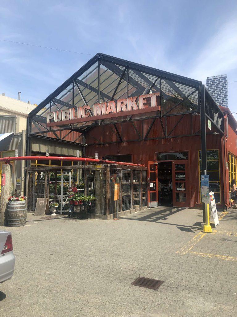 Public market in Vancouver