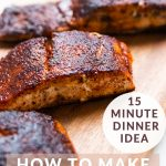 how to make blackened salmon on the stovetop