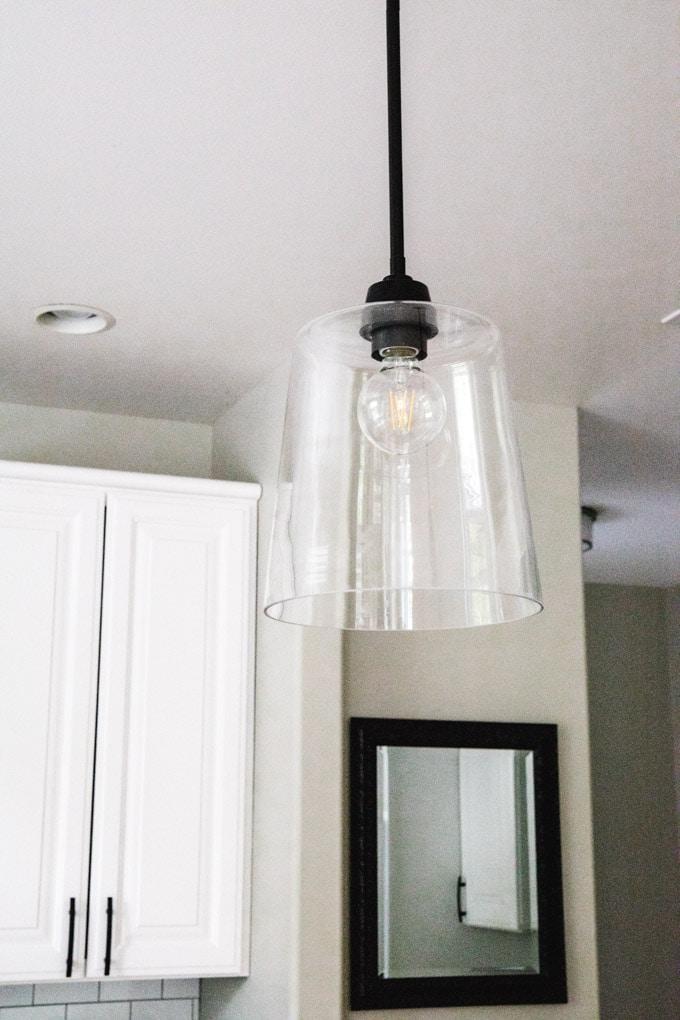 allmon 1 light single bell pendant Wayfair light
