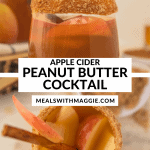 peanut butter whiskey drinks with apples